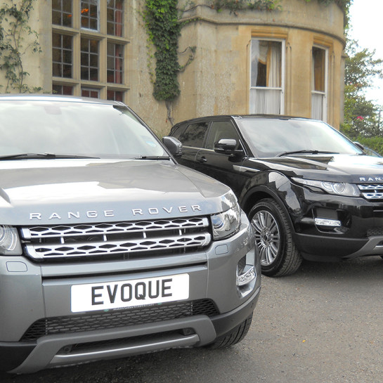 Range Rover Evoque car launch hosted at Burton Court in Herefordshire