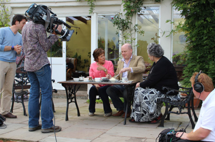 The late, great Lynda Bellingham was a welcome guests here. She was as charming off camera as on.