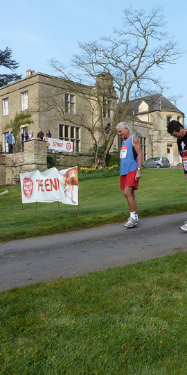A Sport Relief Fun Run that we organised for charity.
