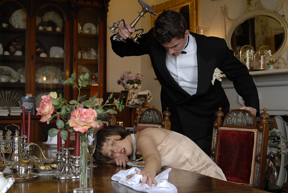 A Murder Mystery is a fun and interactive entertainment that we can host at a dinner party