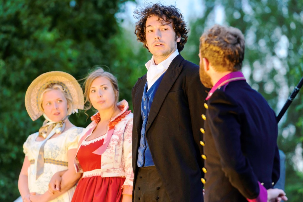 Northanger Abbey. Cast photograph of Eleanor, Catherine, Henry, Tilney and Mr Tilney