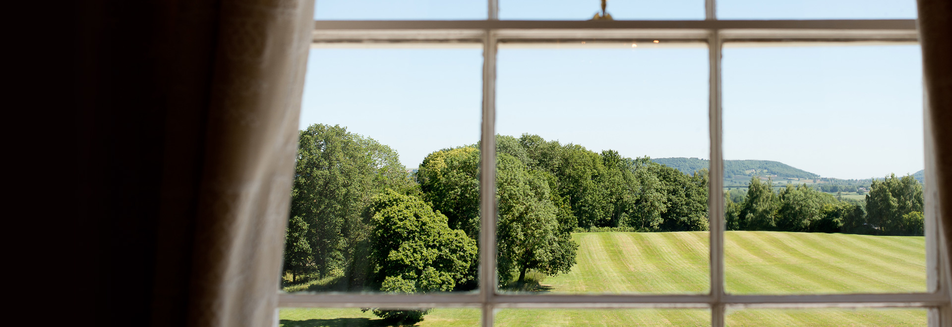 Room with a view over the surrounding Herefordshire countryside - Russell Lewis Photography